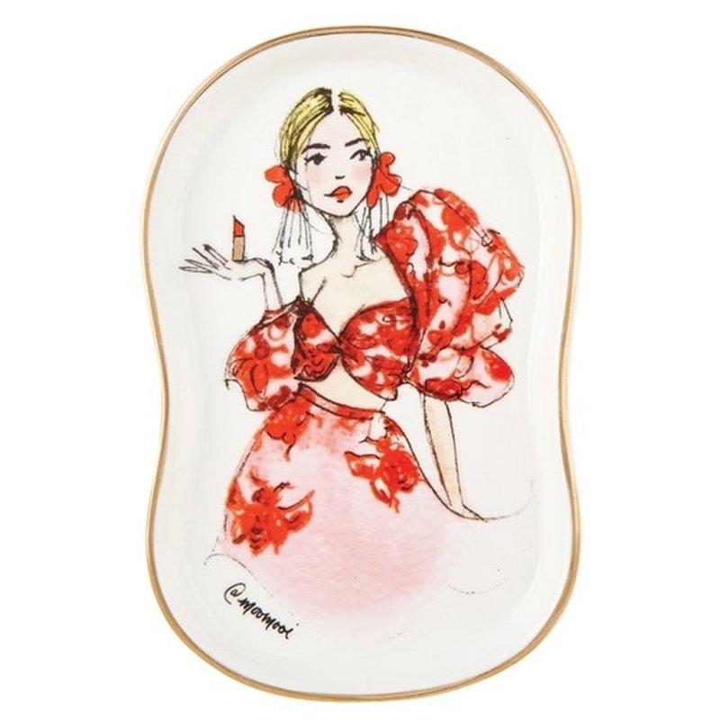 Santa Barbara Design Studio Glam Girl Trinket Tray