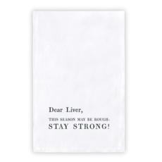 Santa Barbara Design Studio Dear Liver Tea Towel