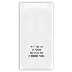 Santa Barbara Design Studio Speaker Phone Tea Towel