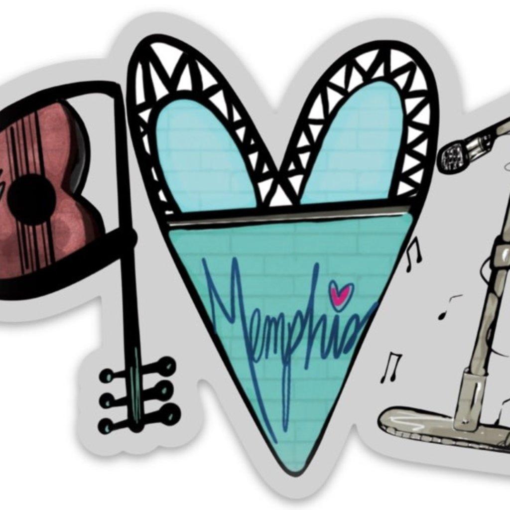 Deanna Hamsley Artwork 901 Sticker