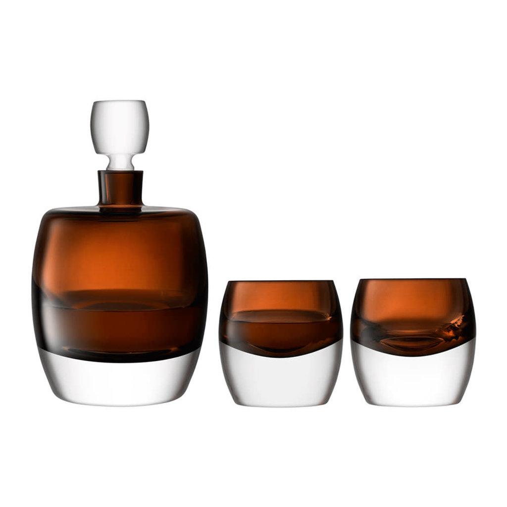LSA International Whiskey Club Whiskey Set