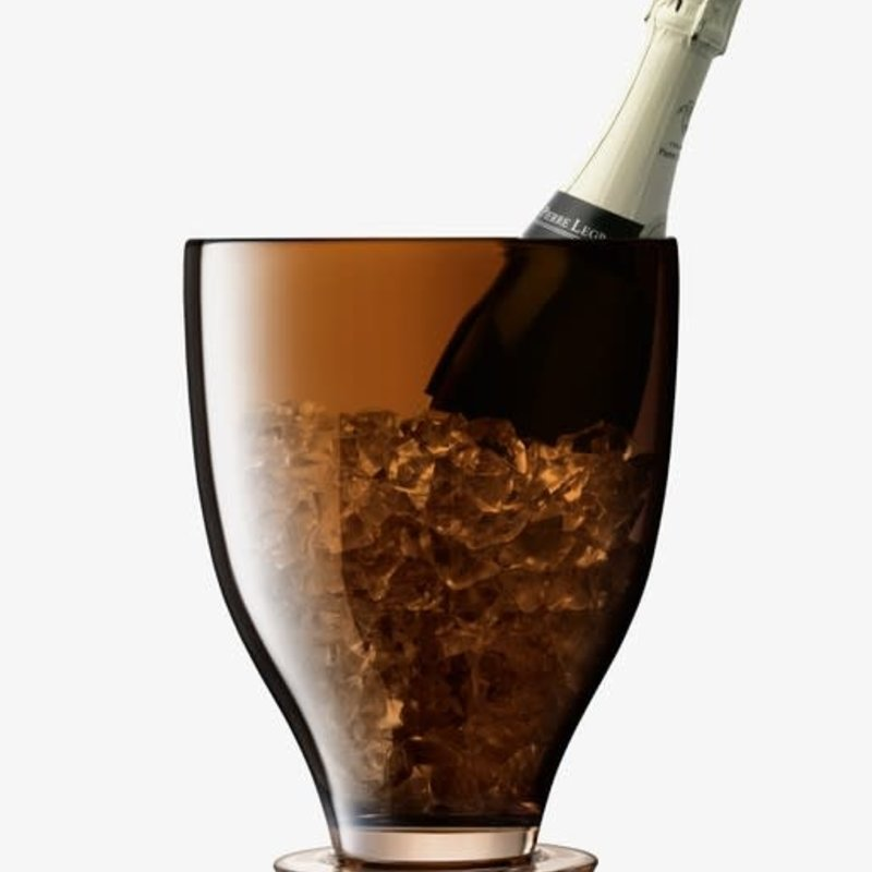 LSA International Amber Champagne Bucket