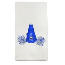 French Graffiti Megaphone Tea Towel
