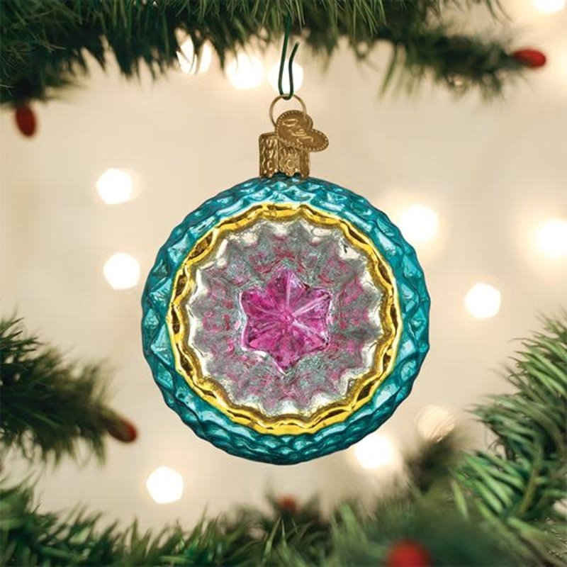 Old World Christmas Faceted Sky Reflection Ornament