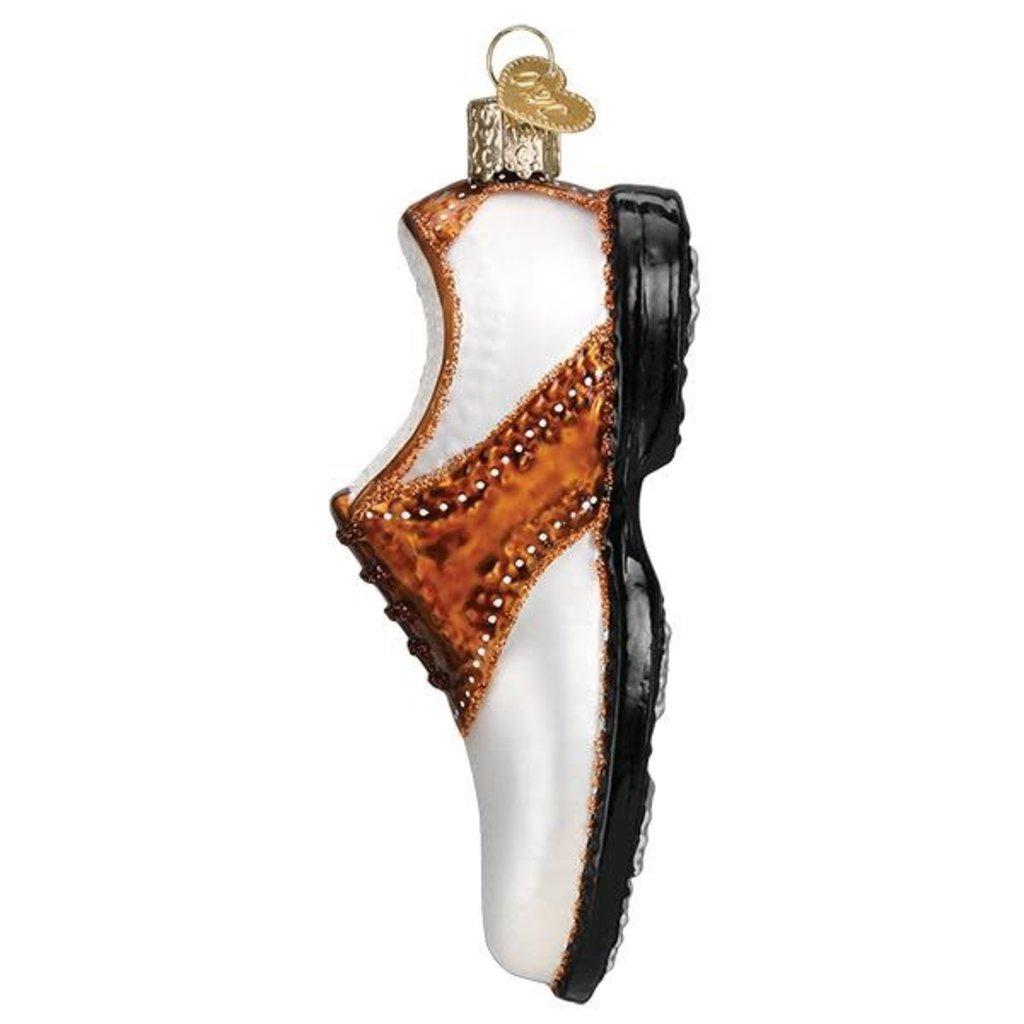 Old World Christmas Golf Shoe Ornament
