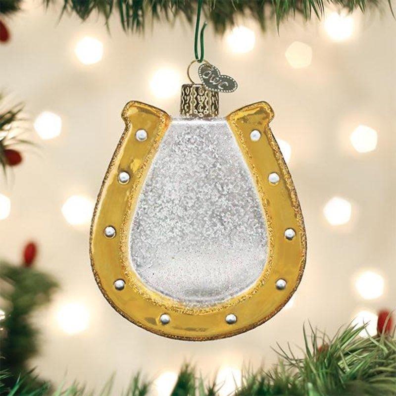 Old World Christmas Horseshoe Ornament