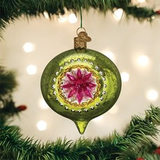 Old World Christmas Limelight Flare Reflection Ornament