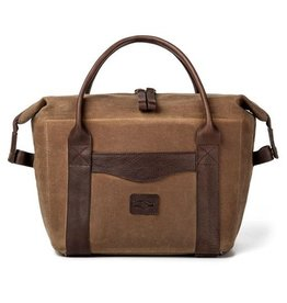 Mission Mercantile Waxed Canvas Cooler in Smoke
