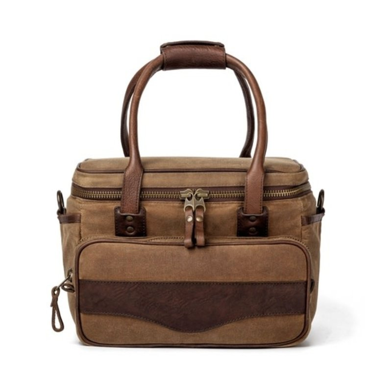 Mission Mercantile Waxed Canvas Scout Cooler in Smoke