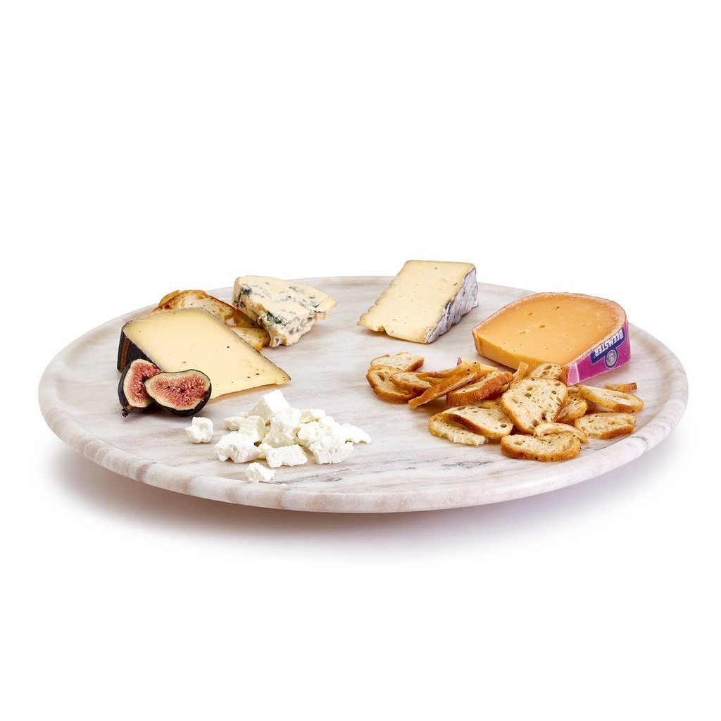 Two's Company Marble Lazy Susan