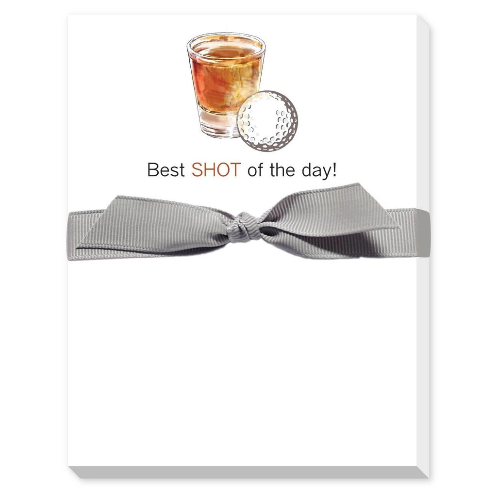 Donovan Designs Best Shot of the Day Golf Notepad