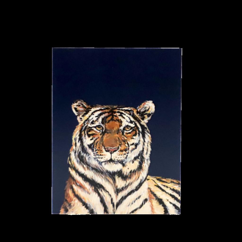 MADS Studio & Design Blue Tiger Enclosure Card