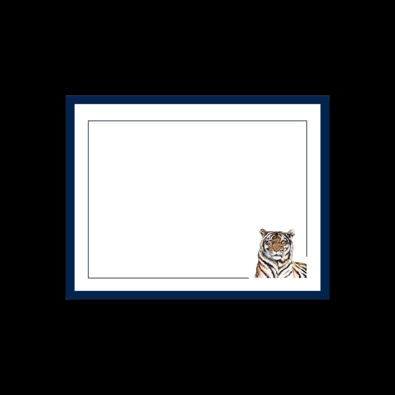 MADS Studio & Design Blue Tiger Notecards