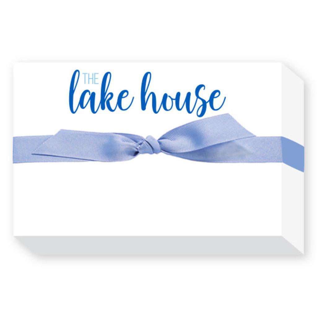 Donovan Designs Lake House Big and Bold Notepad