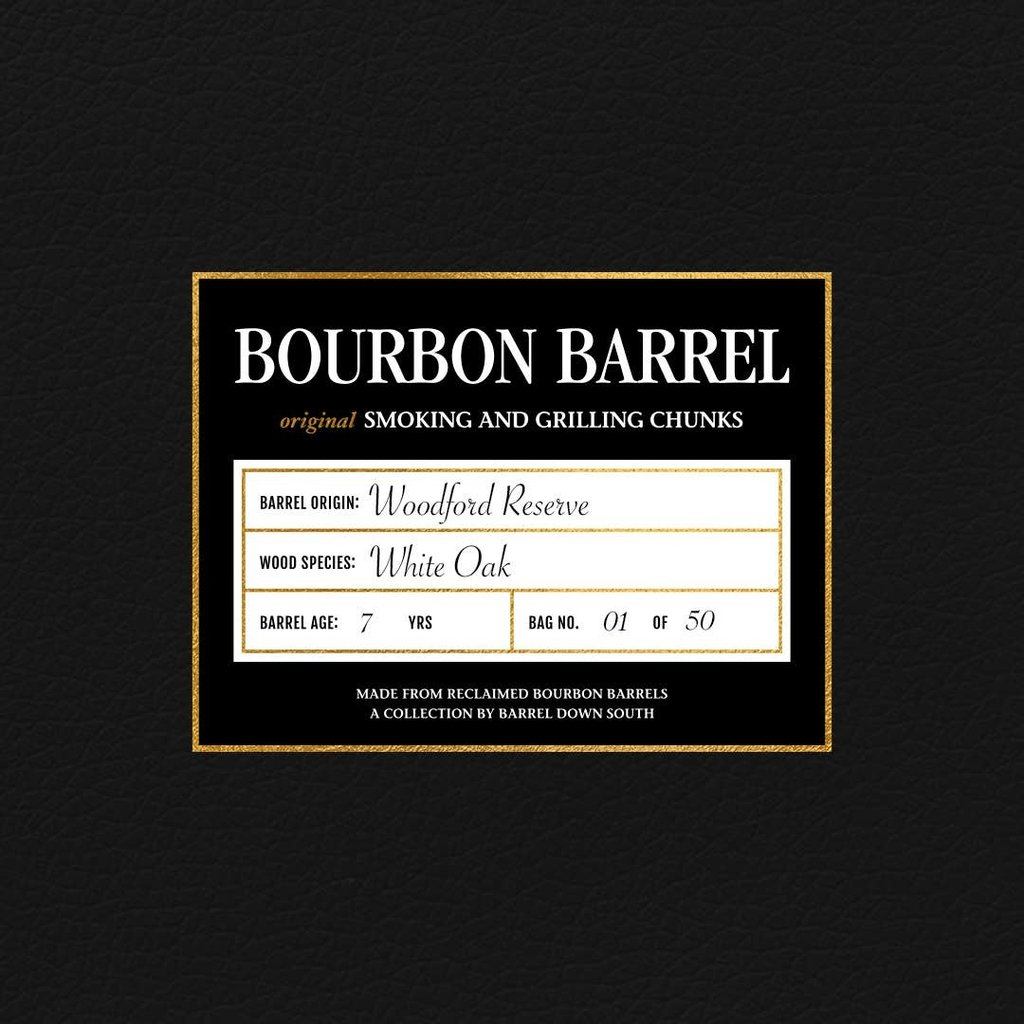 Barrel Down South Woodford Reserve Grilling Chunks