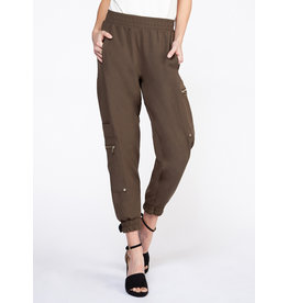 BLACK TAPE Pantalon cargo, zipper