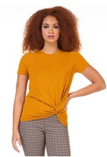 DEX T-SHIRT TWISTE MARIGOLD