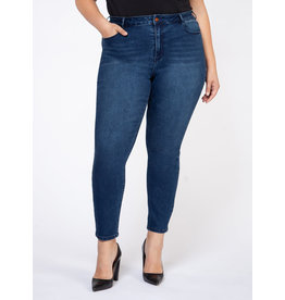 DEX PLUS JEANS SUPER SKINNY BASIC BLEU FONCE