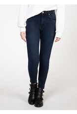 DEX JEANS SKINNY TAILLE HAUTE MARINE FONCE