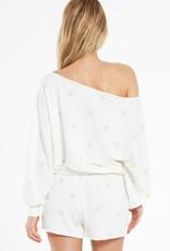 Z Supply Zoe Summer Star Sweatshirt