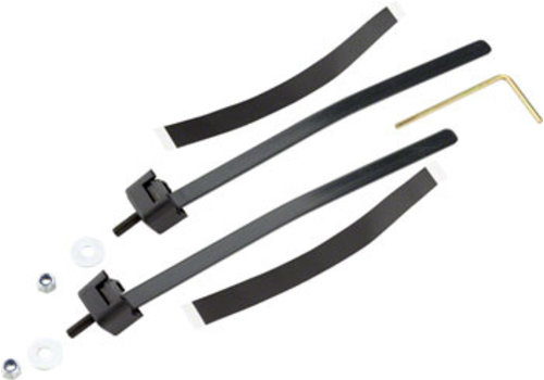 Abus ABUS LH Adaptor Frame Lock Tightening Straps, Black
