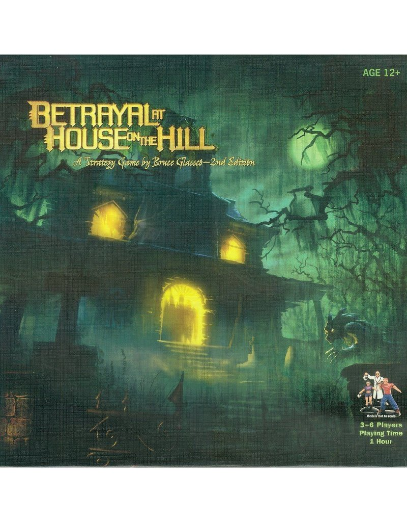 Avalon Hill Games Betrayal at House on the Hill (EN)