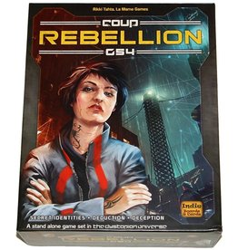 Indie Boards & Cards Coup: Rebellion G54 (EN)