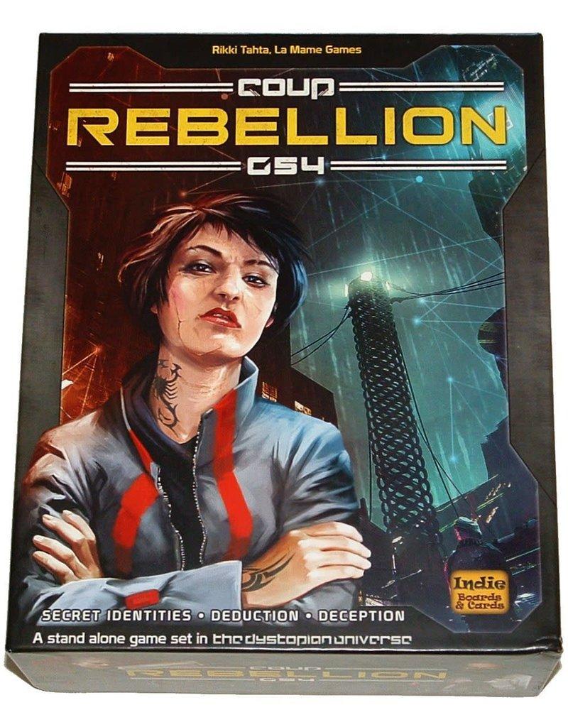 Indie Boards & Cards Coup: Rebellion G54 (EN)