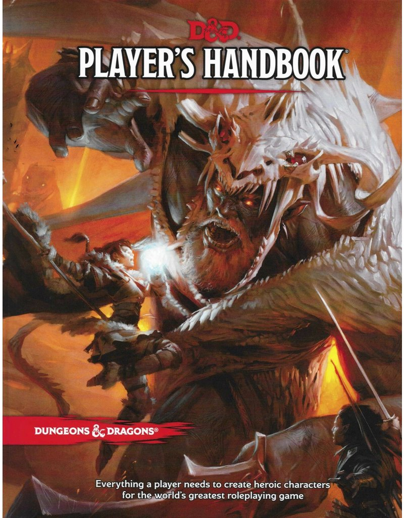Wizards of the Coast D&D 5th Players Handbook (EN)