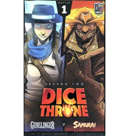Roxley Dice Throne Season 2 Battle 1 Gunslinger/Samurai