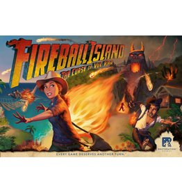 Restauration games Fireball Island: The Curse of Vul-Kar (EN)