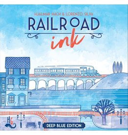 CMON Railroad Ink: Deep Blue Edition (EN)