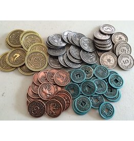 Stonemaier Games jeu board game Scythe: Metal coins