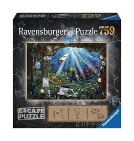 Ravensburger Escape Puzzle 759 mcx, Sous-marin PRECOMMANDE