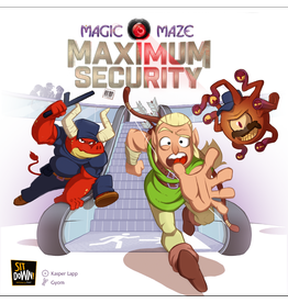 Sit Down! Magic Maze: Maximum Security (FR)