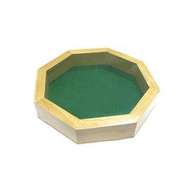 Koplow games Piste de Dés en bois octogonale