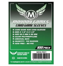 Mayday Games MDG7041- 63.5mm X 88mm 100 pack