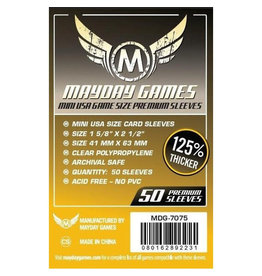 Mayday Games MDG7075 - 41mm X 63mm Deluxe - mini-USA pack 50