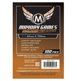 "Mayday Games MDG7102 - 65mm X 100mm ""Magnum"" 100 pack"