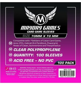 Mayday Games MDG7124 - 70mm X 70mm 100 pack