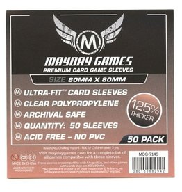 Mayday Games MDG7145 - 80mm X 80mm Deluxe - 50 pack