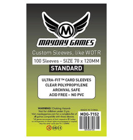"Mayday Games MDG7152 - 70mm X 120 mm ""Tarot"" 75 pack"