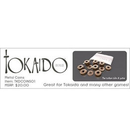 Passport game studios Tokaido: Metal coins