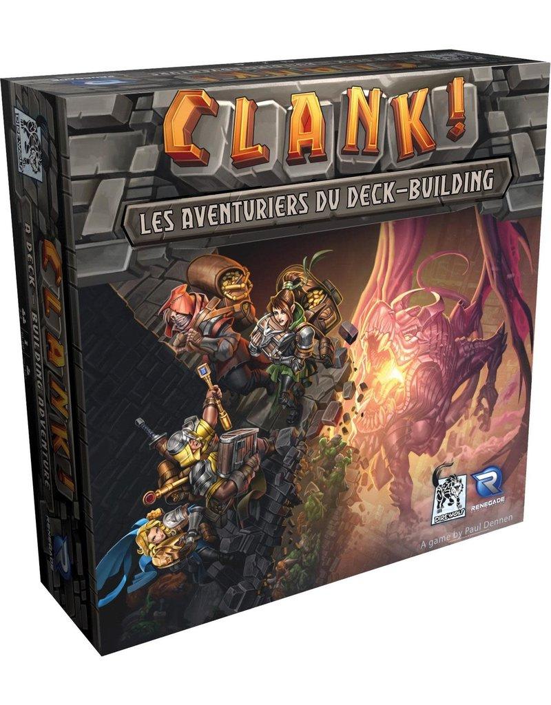Renegade Clank: Les Aventuriers du Deck-building (FR)