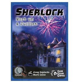 Geek Attitude games Q sys Sherlock - Mort un 4 juillet (FR)