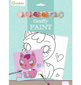 Lamarche Graffy Paint - Chat Coeur