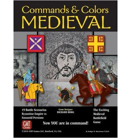 GMT Commands and Colors - Medieval (EN)