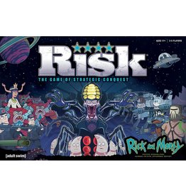 USAOPOLY Risk - Rick and Morty (EN)