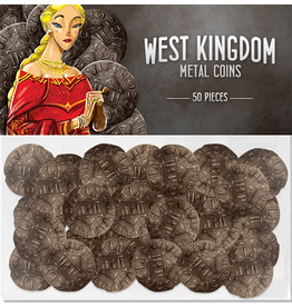 Renegade Game Studios West Kingdom metal coins 50 pack