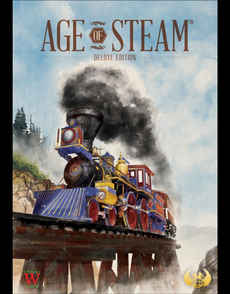 Eagle-Gryphon Games Age of Steam base Deluxe (EN) PRÉCOMMANDE